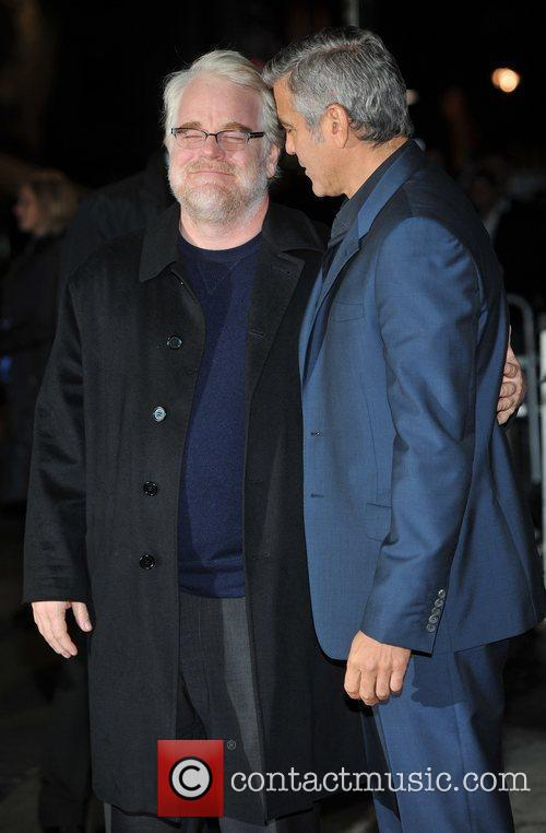 Philip Seymour Hoffman, George Clooney and Odeon Leicester Square 3