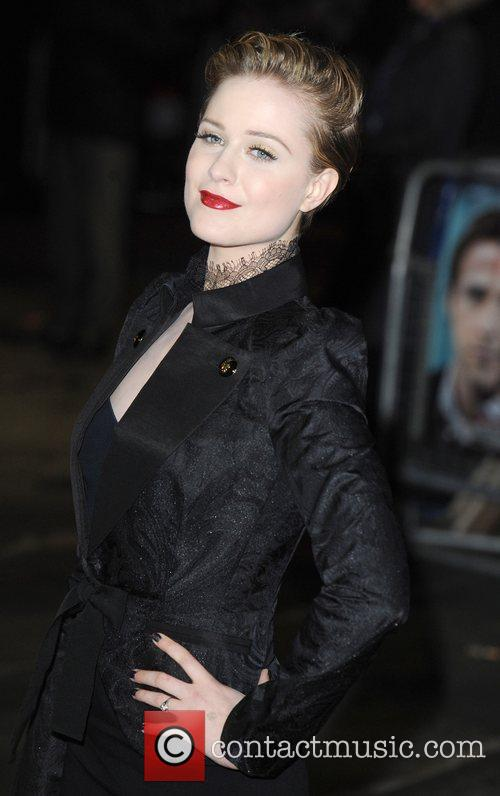 Evan Rachel Wood and Odeon Leicester Square 12