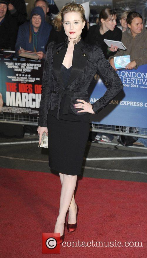 Evan Rachel Wood and Odeon Leicester Square 10