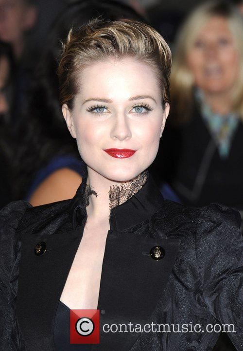 Evan Rachel Wood and Odeon Leicester Square 9