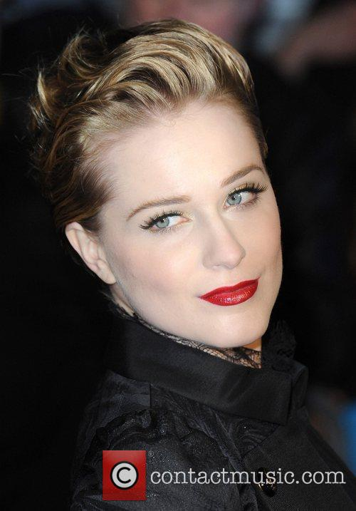 Evan Rachel Wood and Odeon Leicester Square 13