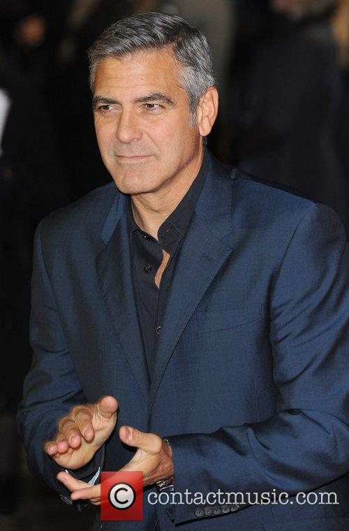 George Clooney and Odeon Leicester Square 1