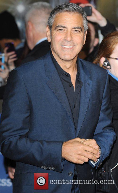 George Clooney and Odeon Leicester Square 16