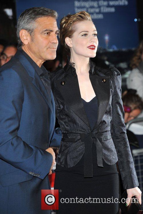George Clooney, Evan Rachel Wood and Odeon West End 1