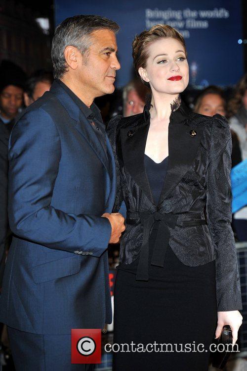 George Clooney, Evan Rachel Wood and Odeon West End 2