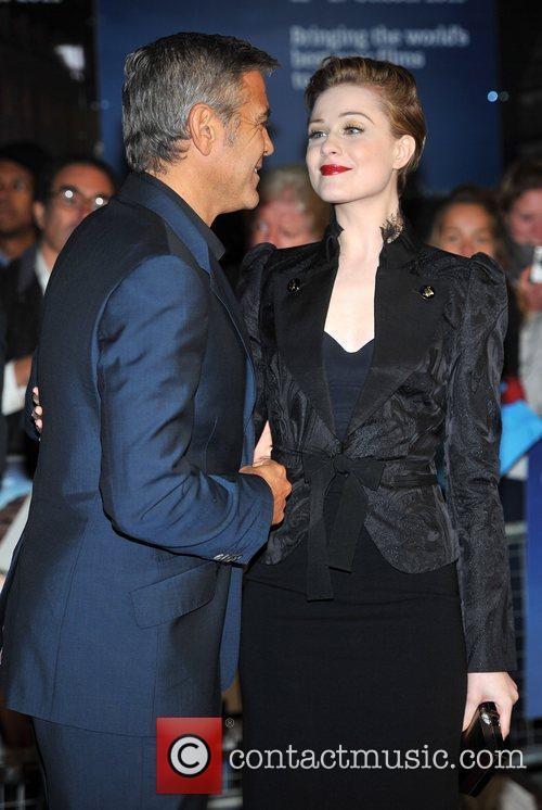 George Clooney, Evan Rachel Wood and Odeon West End 3