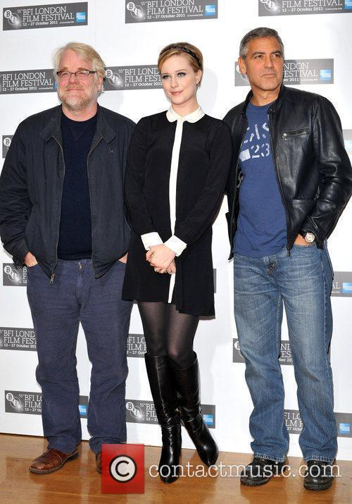 George Clooney, Evan Rachel Wood and Odeon West End 2