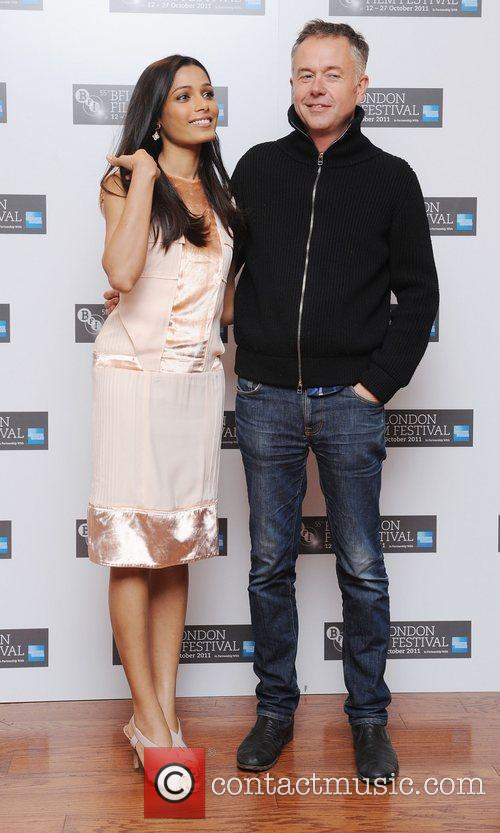 Freida Pinto and Michael Winterbottom