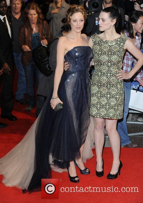 Andrea Riseborough, Katie Mcgrath and Empire Leicester Square 7