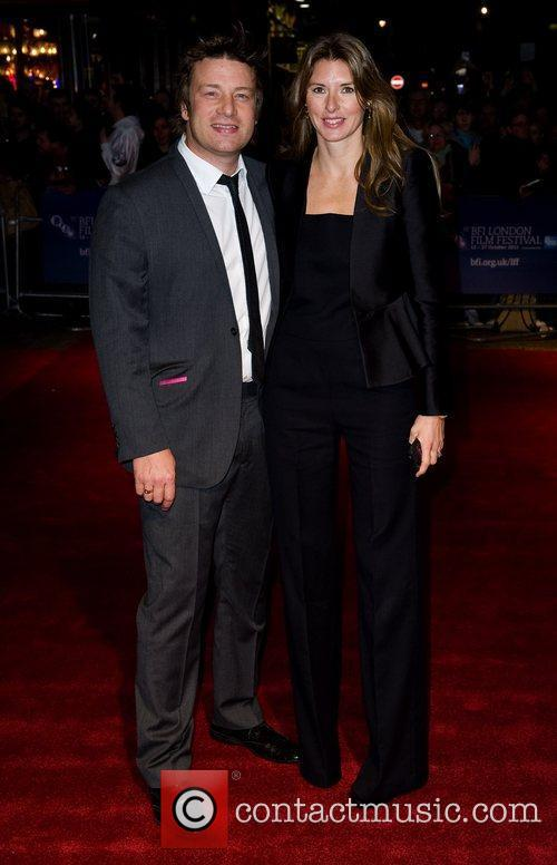 Jamie Oliver and Jools Oliver 55th BFI London...