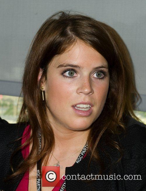 Prionces Eugenie,  on the trading floor of...