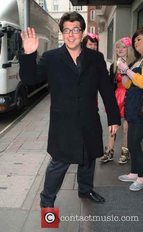 Arriving at a 'Britain's Got Talent' photocall