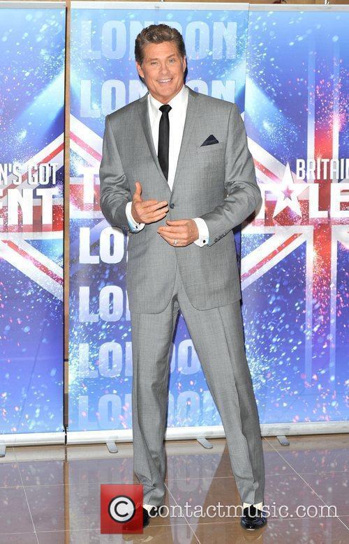 David Hasselhoff Britain's Got Talent - press launch...