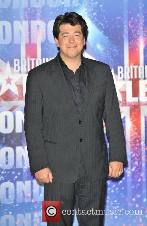 Michael McIntyre Britain's Got Talent - press launch...