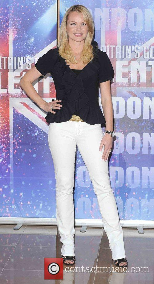 Amanda Holden at Britain's Got Talent press launch...