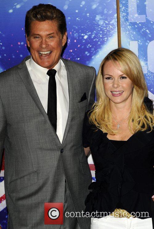 David Hasselhoff and Amanda Holden  Britain's Got...