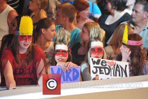 Celebrity Big Brother live eviction held at Elstree...