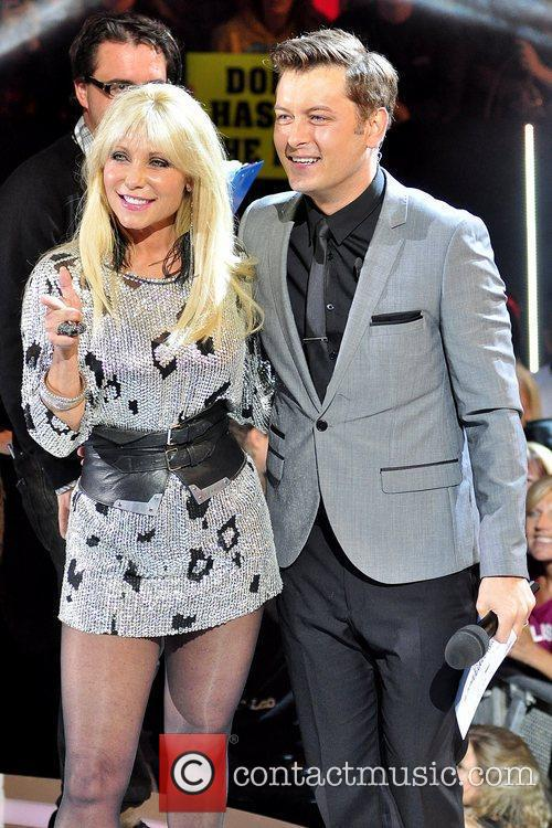 Pamela Bach and Brian Dowling Celebrity Big Brother...