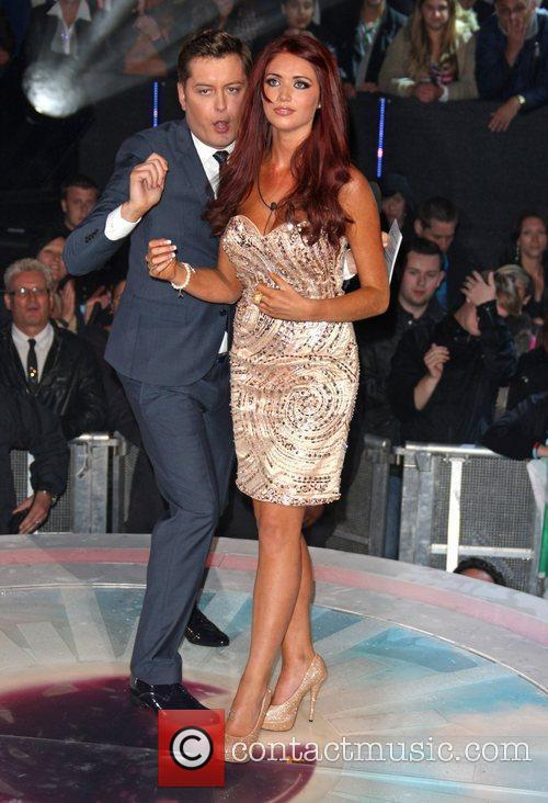 Brian Dowling and Amy Childs Celebrity Big Brother...