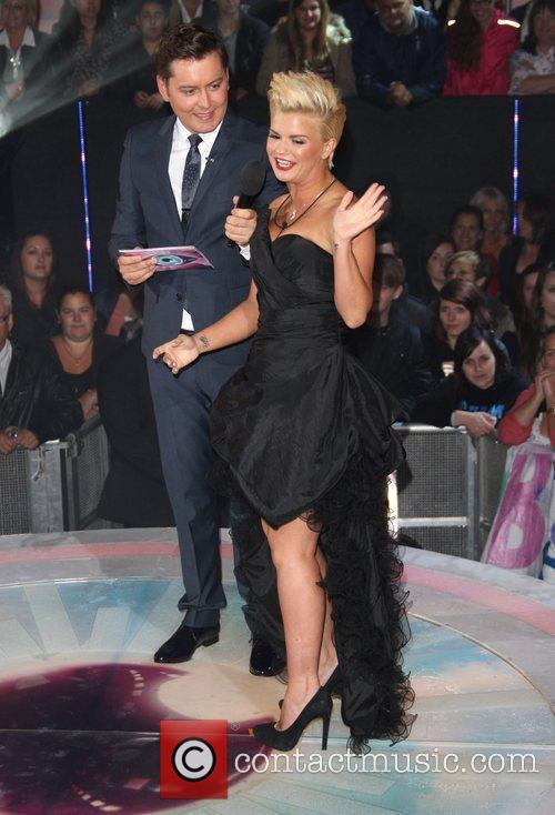 Brian Dowling and Kerry Katona Celebrity Big Brother...