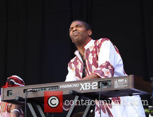 Femi Kuti & the Positive Force performing on...