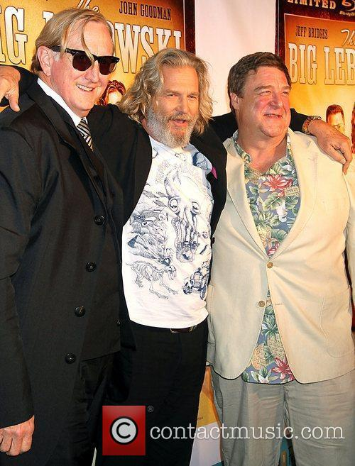 T-bone Burnett, Jeff Bridges and John Goodman 4