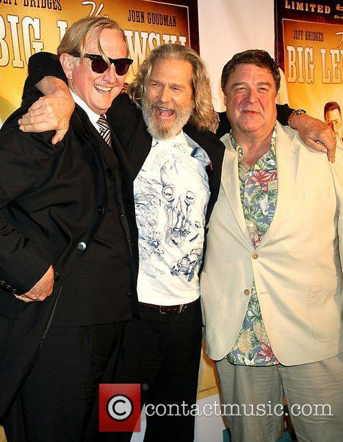 T-bone Burnett, Jeff Bridges and John Goodman 1