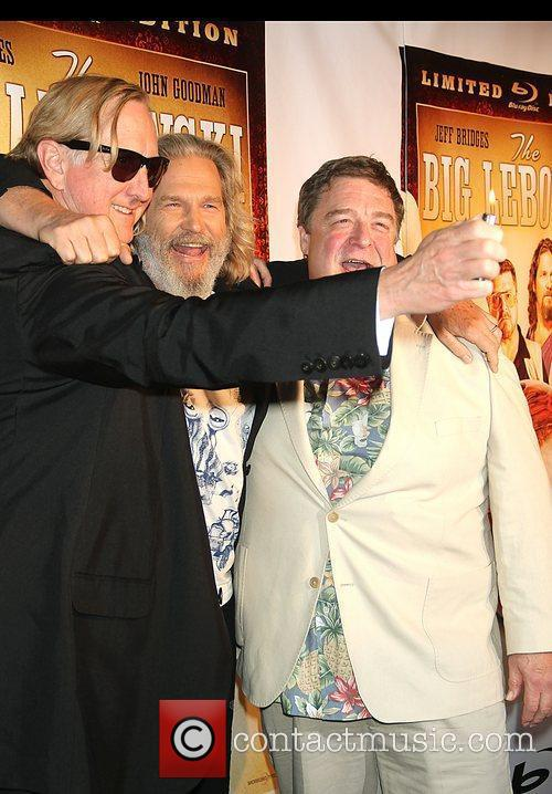 T-bone Burnett, Jeff Bridges and John Goodman 2