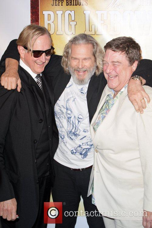 T-bone Burnett, Jeff Bridges and John Goodman 3