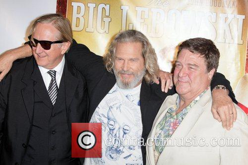 T-bone Burnett, Jeff Bridges and John Goodman 9