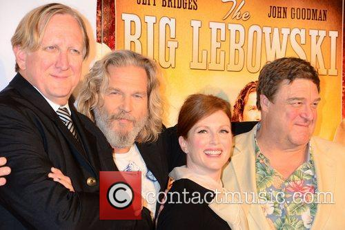 T-bone Burnett, Jeff Bridges, John Goodman and Julianne Moore 2