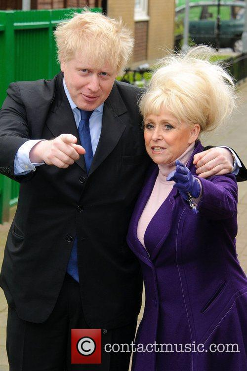 Barbara Windsor and Boris Johnson 9