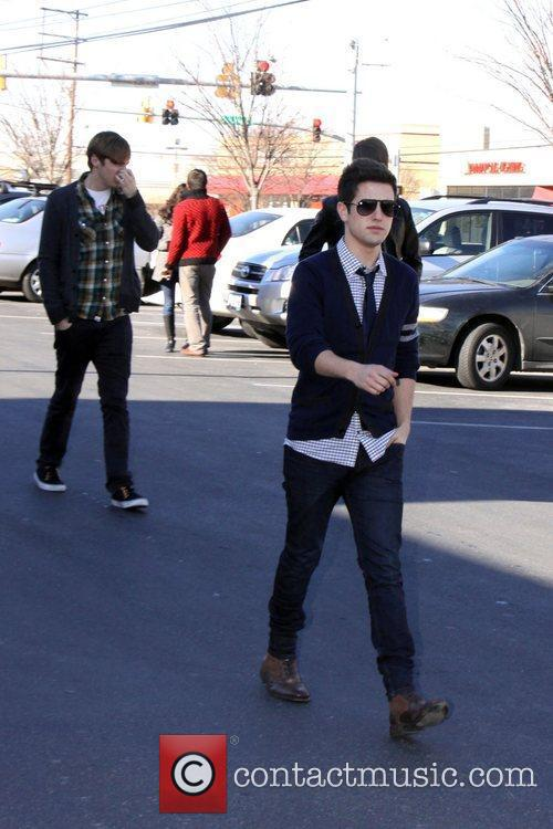 Big Time Rush  arriving at Hot 99.5...