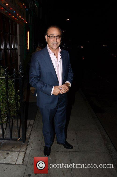 Theo Paphitis at Malabar Junction Restaurant London, England