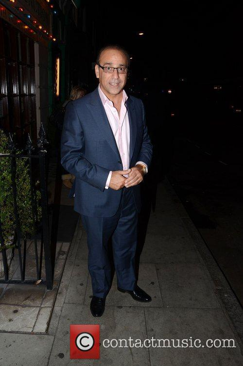 Theo Paphitis at Malabar Junction Restaurant