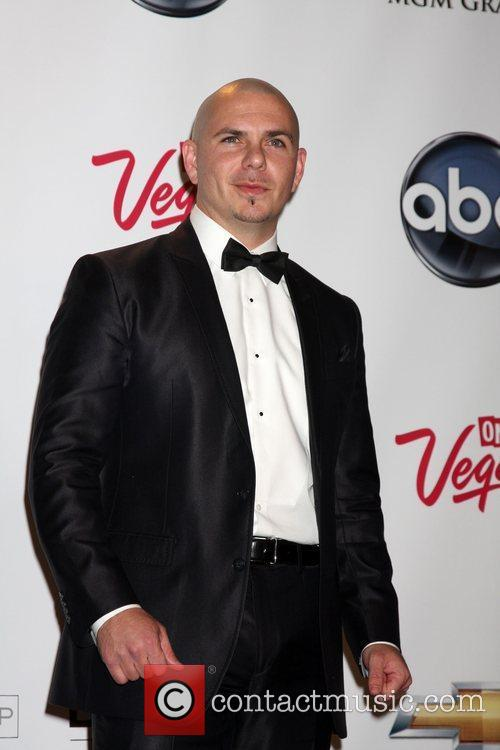 Pitbull at the 2011 Billboard Music Awards at...