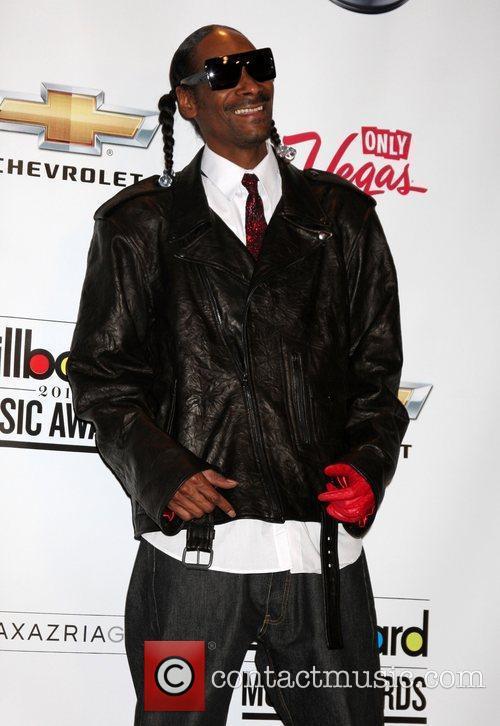 Snoop Dogg at the 2011 Billboard Music Awards...