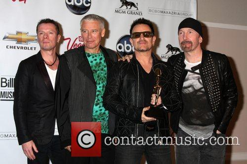 U2, Adam Clayton and Bono 2