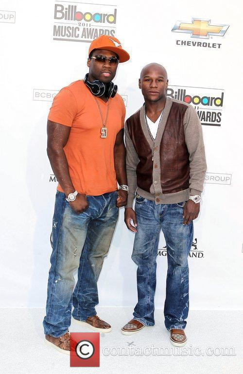 50 Cent and Floyd Mayweather Jr. 5