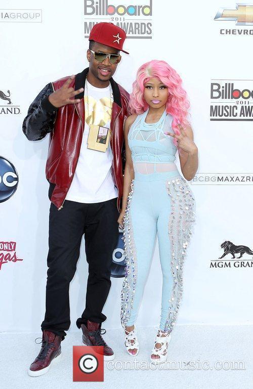 Guest and Nicki Minaj The 2011 Billboard Music...