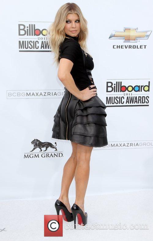 Fergie 2011 Billboard Awards at the MGM Grand...