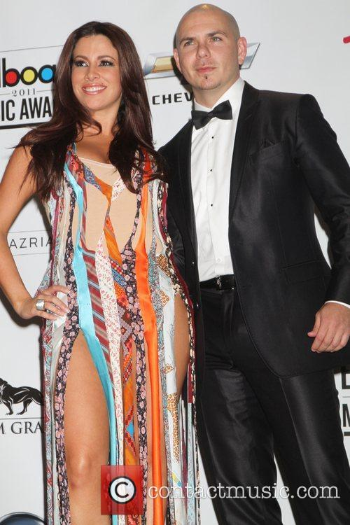 Pitbull, Nayer at the 2011 Billboard Music Awards...