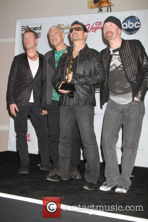 U2, Adam Clayton and Bono 1
