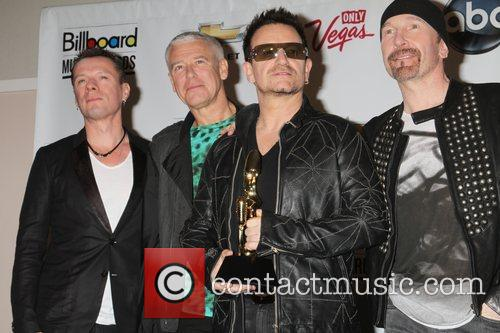 U2, Adam Clayton and Bono 4