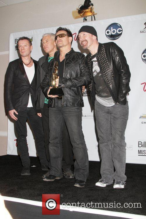 U2, Adam Clayton and Bono 3
