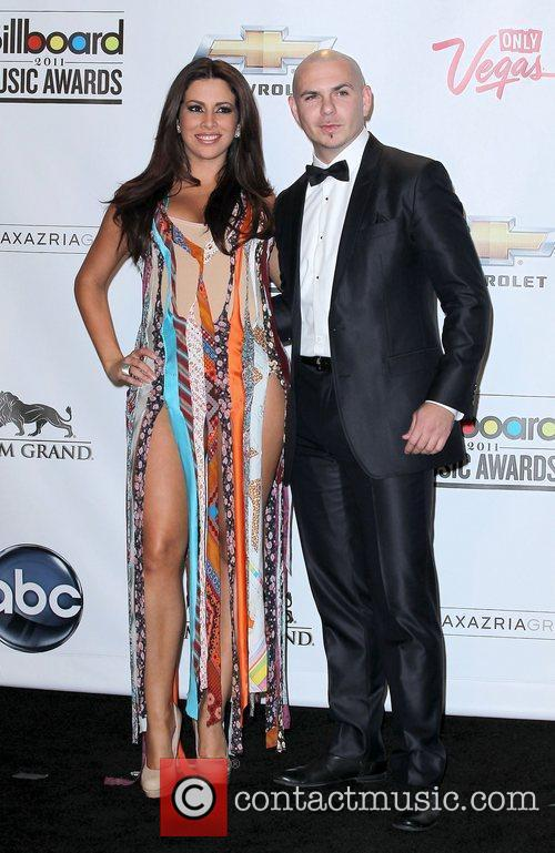 Nayer and Pitbull The 2011 Billboard Music Awards...