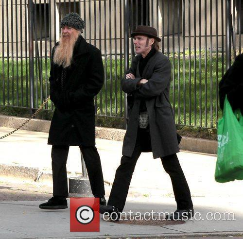 Billy Gibbons out and about in Manhattan New...