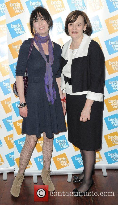 Lysette Anthony and Cherie Blair 2