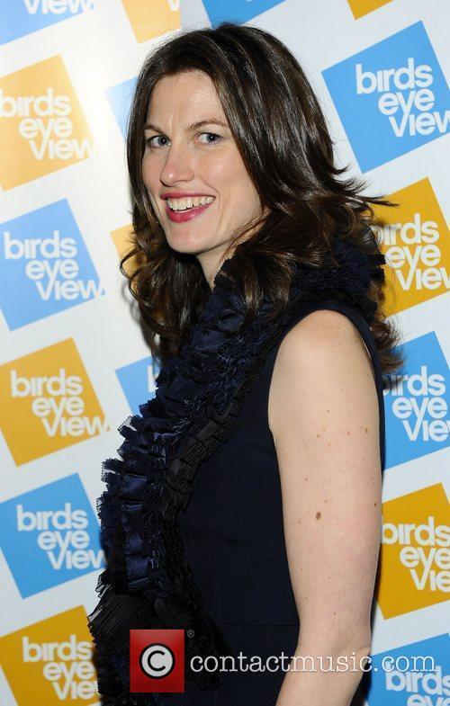 At the 'Birds Eye View Film Festival' closing...