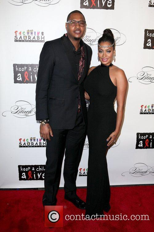Carmelo Anthony and La La Anthony 8th Annual...